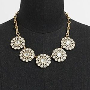 J. Crew Layered Circle Necklace